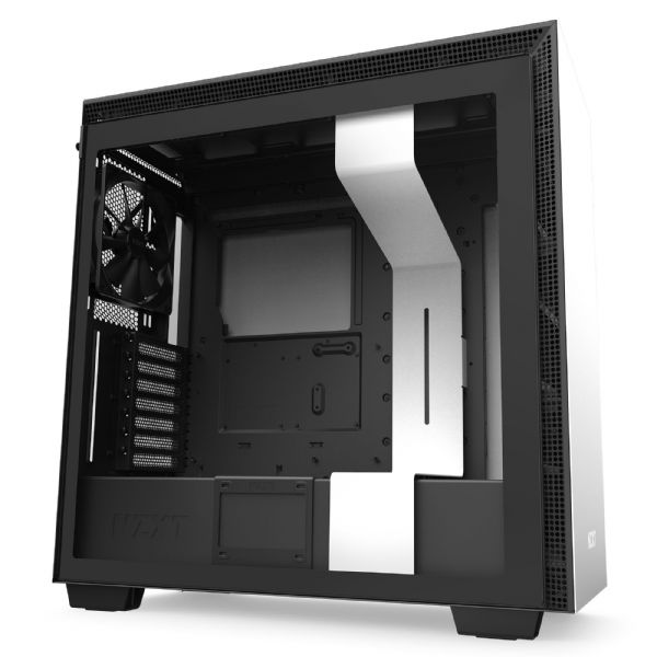 NZXT H710 Matte White / Black Mid Tower Case